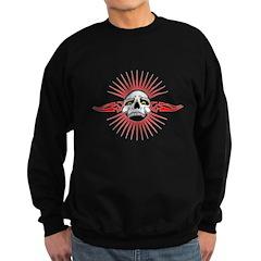 Tribal Burst Skull Sweatshirt