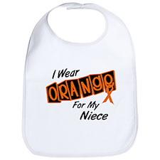 I Wear Orange For My Niece 8 Bib