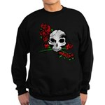 Rose Skull Sweatshirt (dark)