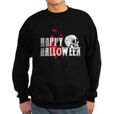Happy Halloween Skull Sweatshirt
