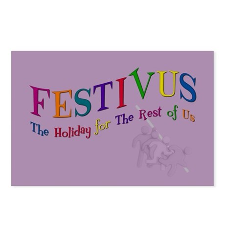 Festivus Pole Postcards (Package of 8)