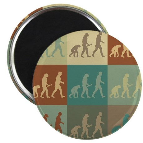 Evolutionary Biology Pop Art Magnet
