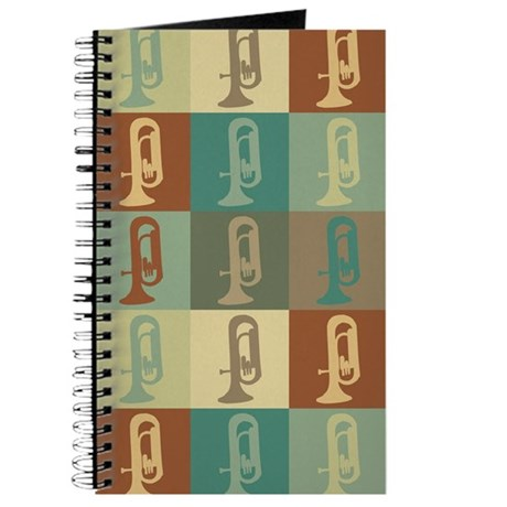 Euphonium Pop Art Journal