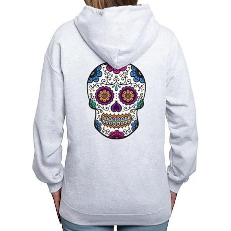 Sugar Skull Women's Zip Hoodie