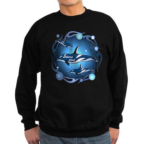 Save the whales Sweatshirt (dark)
