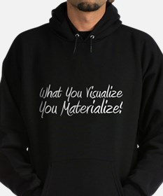 Visualize and Materialize Hoodie (dark)