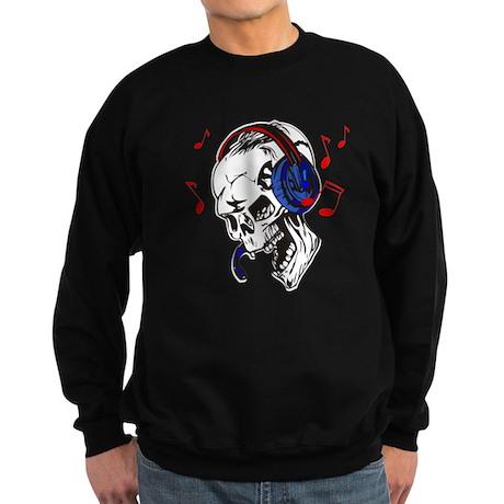 DJ Skull Sweatshirt (dark)