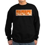 Orange Fencer's Thrust Sweatshirt (dark)