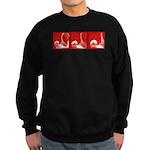 Red Fencing Thrust Sweatshirt (dark)
