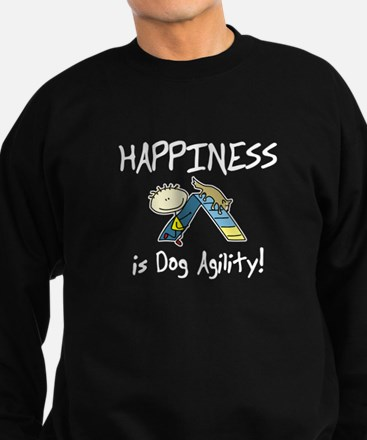 Happy Dog Agility Sweatshirt (dark)