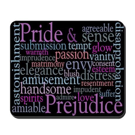 Austen's Pride and Prejudice Mousepad
