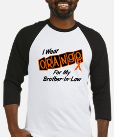 I Wear Orange For My Brother-In-Law 8 Baseball Jer