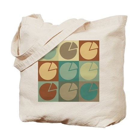 Economics Pop Art Tote Bag