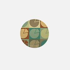 Economics Pop Art Mini Button (100 pack)