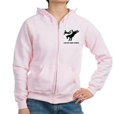 Horse I Do My Own Stunts Zip Hoody