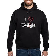 I Love Twilight Hoodie (dark)