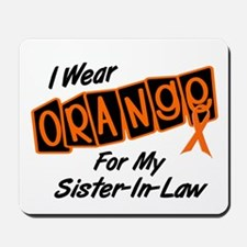 I Wear Orange For My Sister-In-Law 8 Mousepad