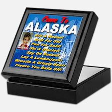 Come To Alaska Keepsake Box