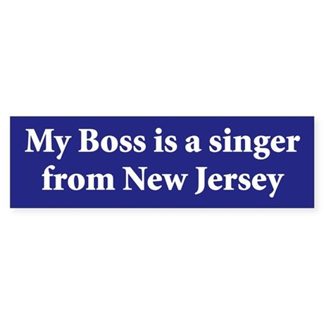 Bruce Springsteen Bumper Sticker