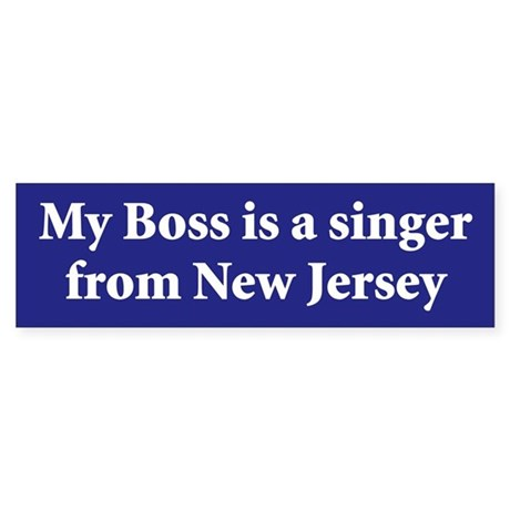 Bruce Springsteen Bumper Stickers By Highwayblues
