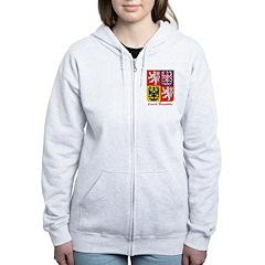 Czech Republic Zip Hoodie