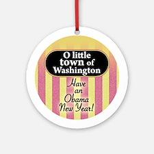 O little town of Bethlehem Ornament