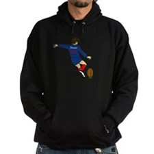 French Rugby Kicker Hoodie