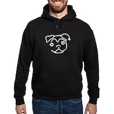 Pug Line Hoodie