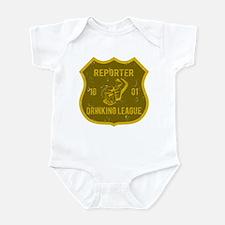 Reporter Drinking League Infant Bodysuit