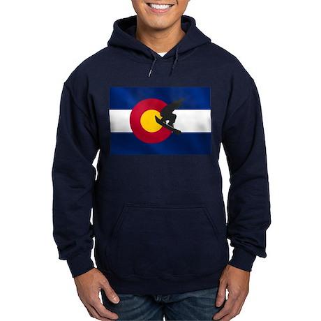 Colorado Snowboarding Hoodie (dark)