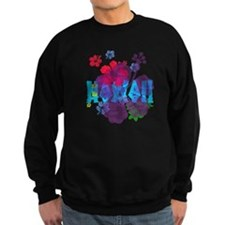 Hawaii Hibiscus Sweatshirt