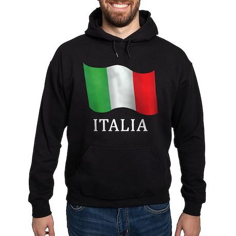 Italia Flag Hoodie (dark)