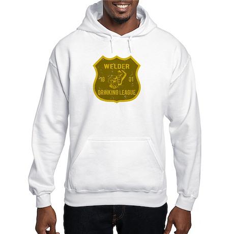 Welder Drinking League Hooded Sweatshirt
