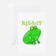 Ribbit Greeting Card