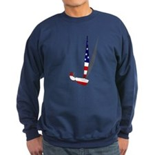 USA Dinghy Sailboat Sweatshirt