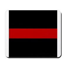 Firefighter Thin Red Line Mousepad