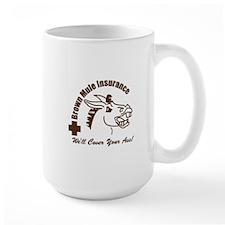 Brown Mule Insurance Mug