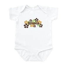 Brianna - Fall Flowers Infant Bodysuit