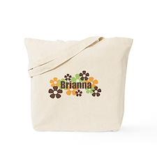 Brianna - Fall Flowers Tote Bag