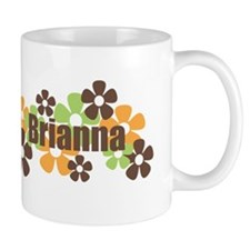 Brianna - Fall Flowers Mug