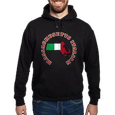 Massachusetts Italian Hoody
