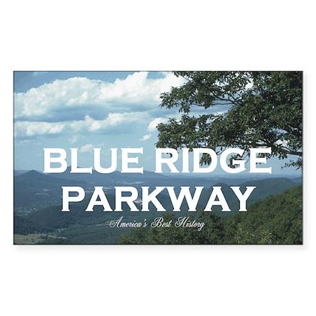 Blue Ridge Americasbesthistory Sticker (Rectangle)