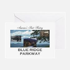 Blue Ridge Americasbesthistory.com Greeting Card