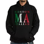 Boston Italian Hoodie (dark)