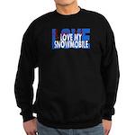 Love Me - Snowmobile Sweatshirt (dark)
