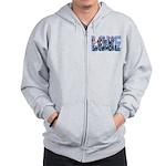 Love Me - Snowmobile Zip Hoodie