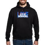 Love Me - Snowmobile Hoodie (dark)