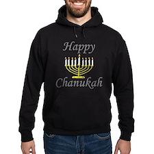 Happy Chanukah Menorah Hoodie