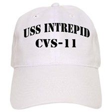 USS INTREPID Baseball Cap