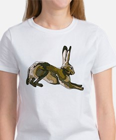 Hare (brown) Women's T-Shirt
